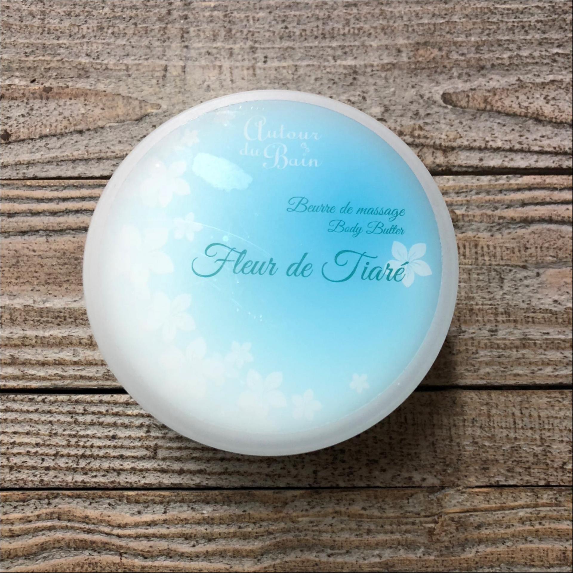Beurre de massage fleur de tiare