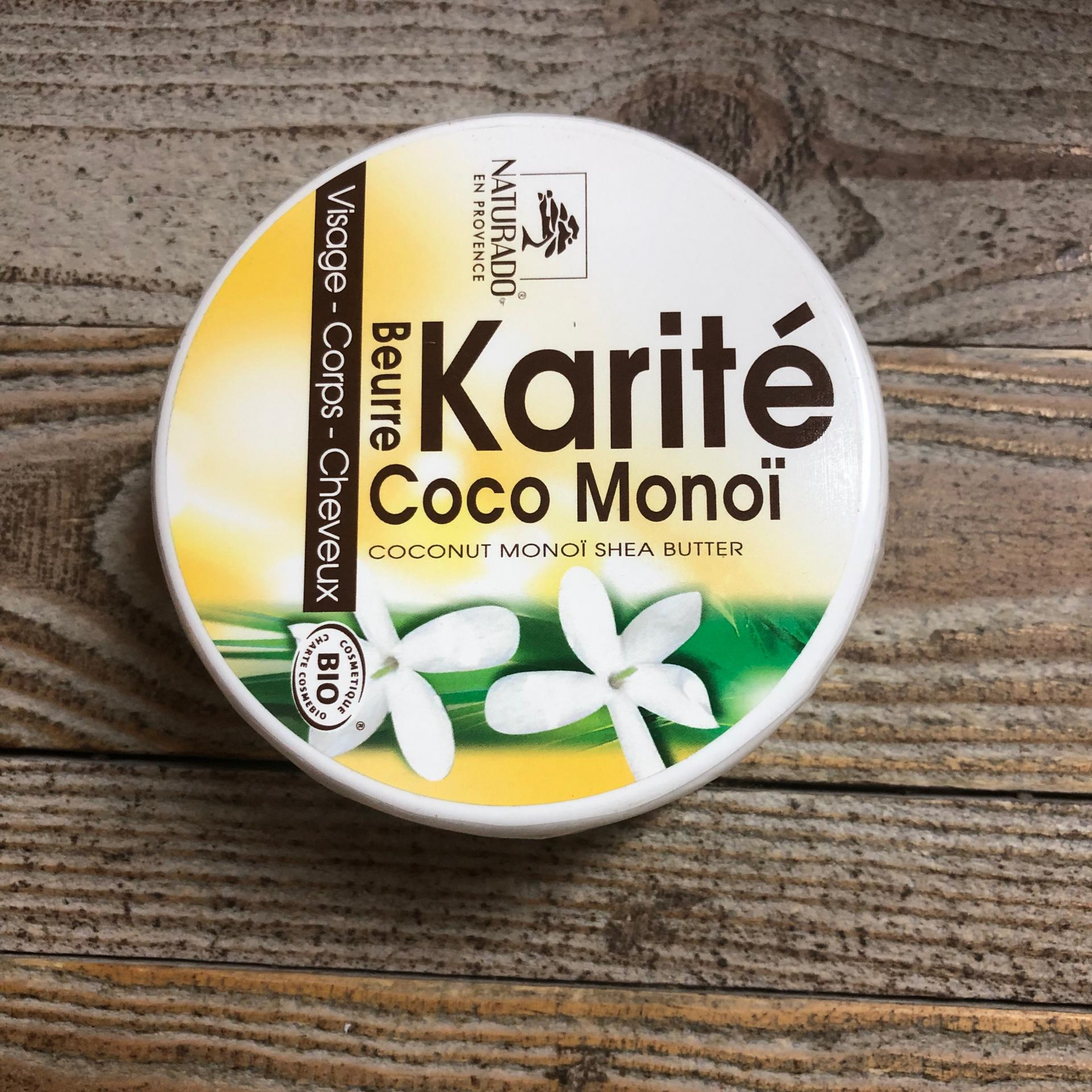 Beurre karite coco monoi