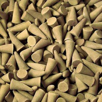 Cônes d'encens indiens noix de coco X 10