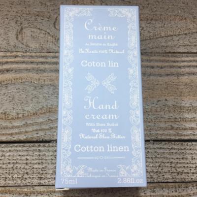Crème mains Coton Lin