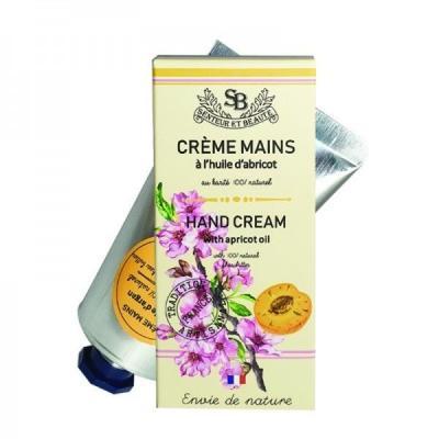 Crème mains à l'huile d'Abricot