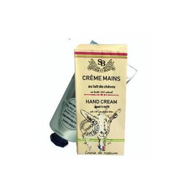 Crème mains au lait de chèvre bio