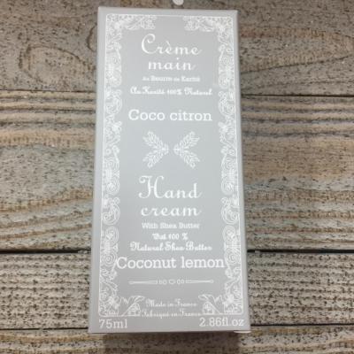 Crème mains coco citron