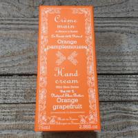 Creme mains orange pamplemousse