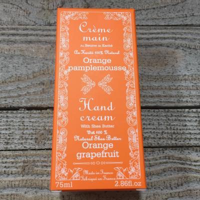 Crème mains Orange Pamplemousse