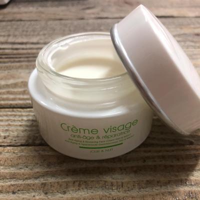 Crème visage anti-âge & réparatrice à la bave d'escargot