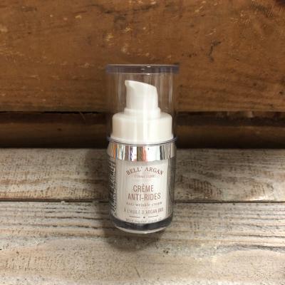 Crème visage anti-rides à l'huile d'Argan