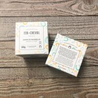 Cube de marseille olive 300g pb