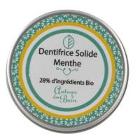Dentifrice solide menthe