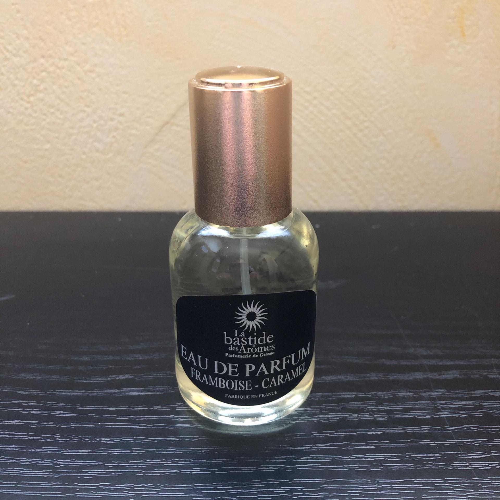 Eau de parfum 50 ml franboise caramel