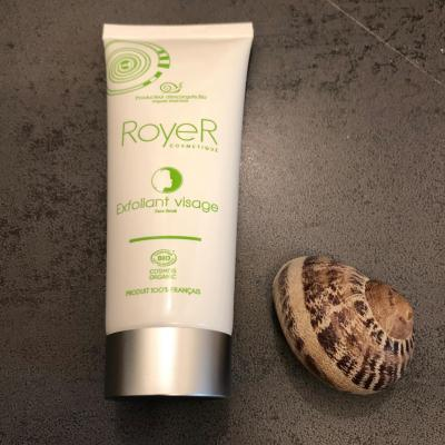 Exfoliant visage bave escargot