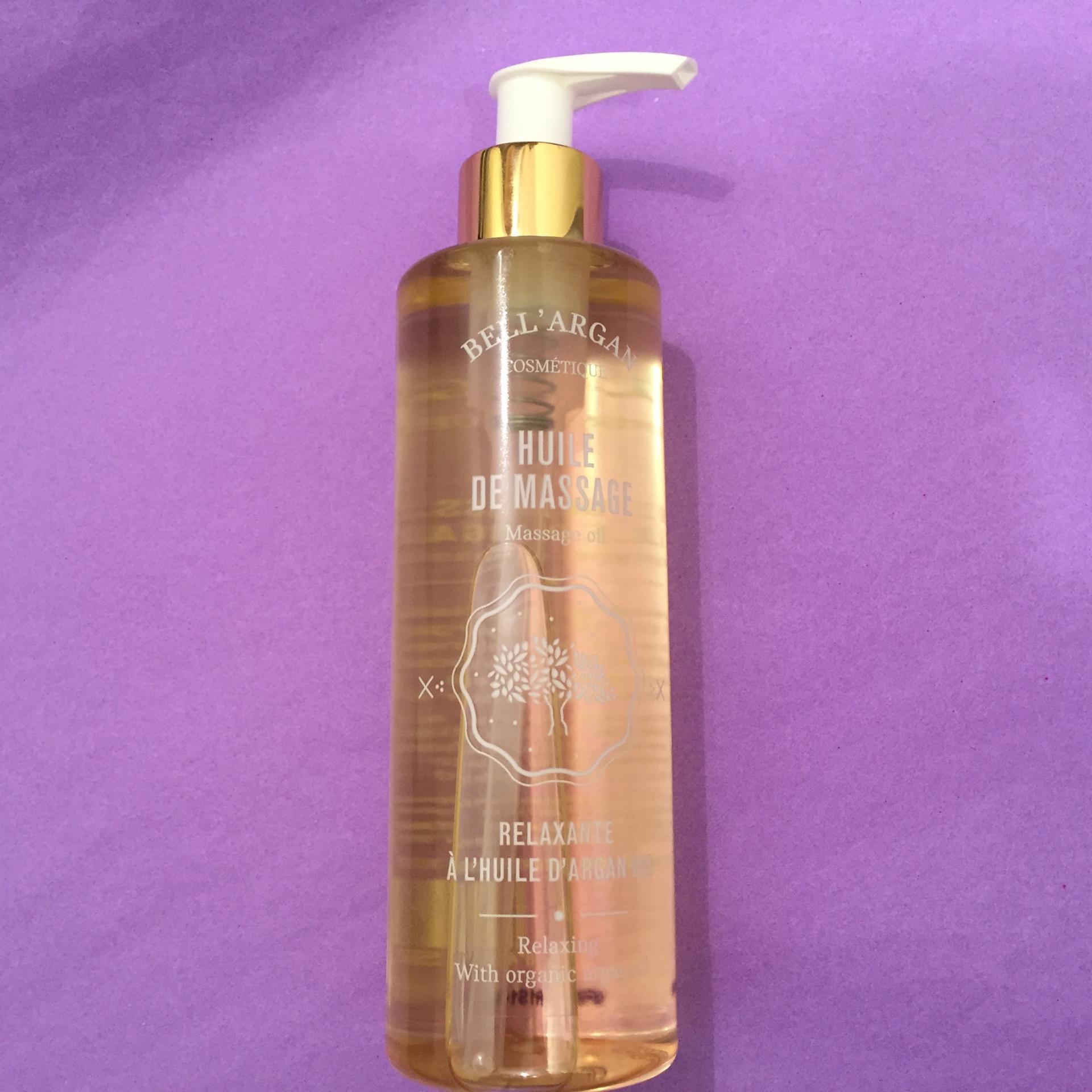 Huile de massage a l huile d argan