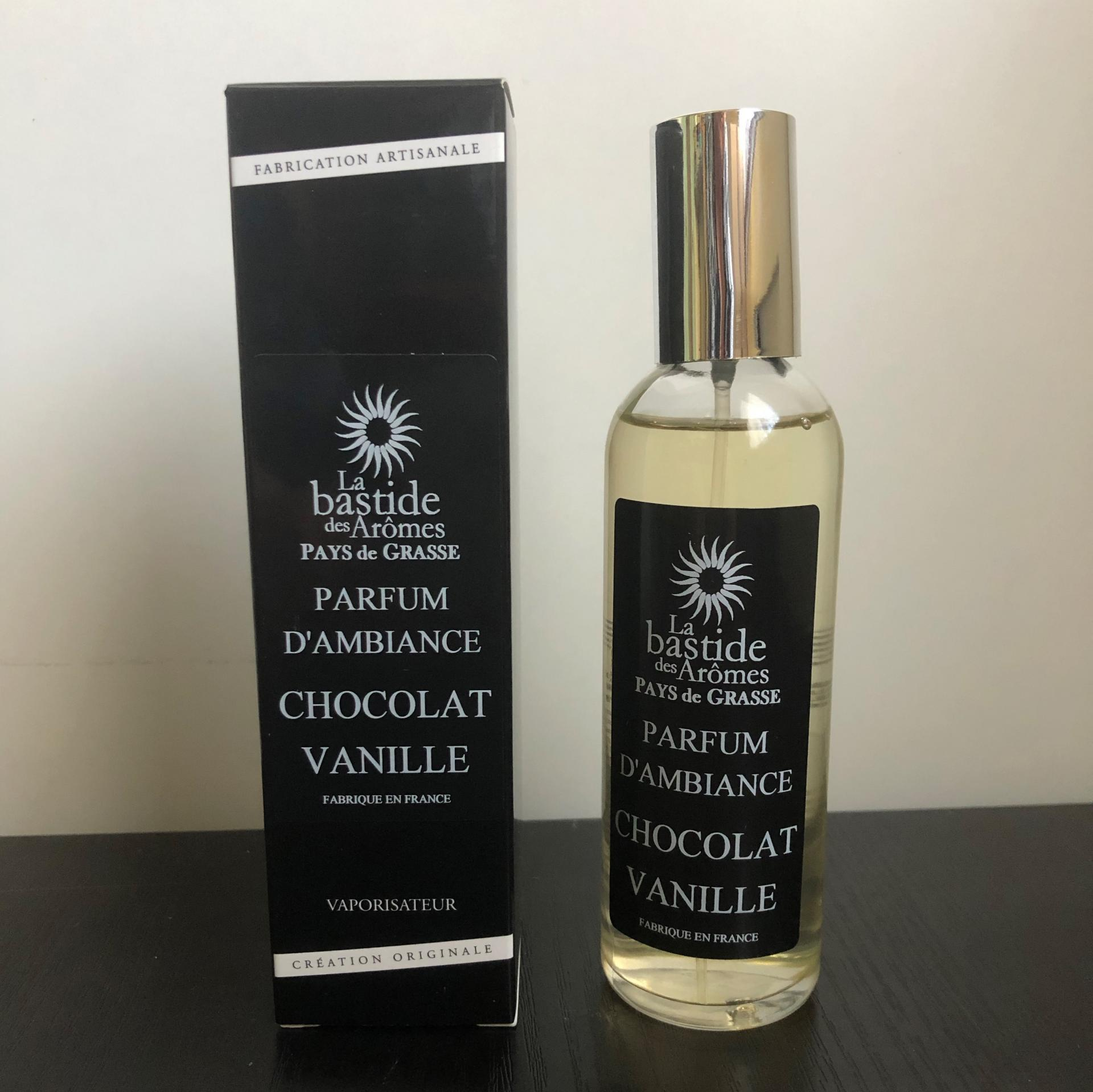 Parfum d ambiance chocolat vanille
