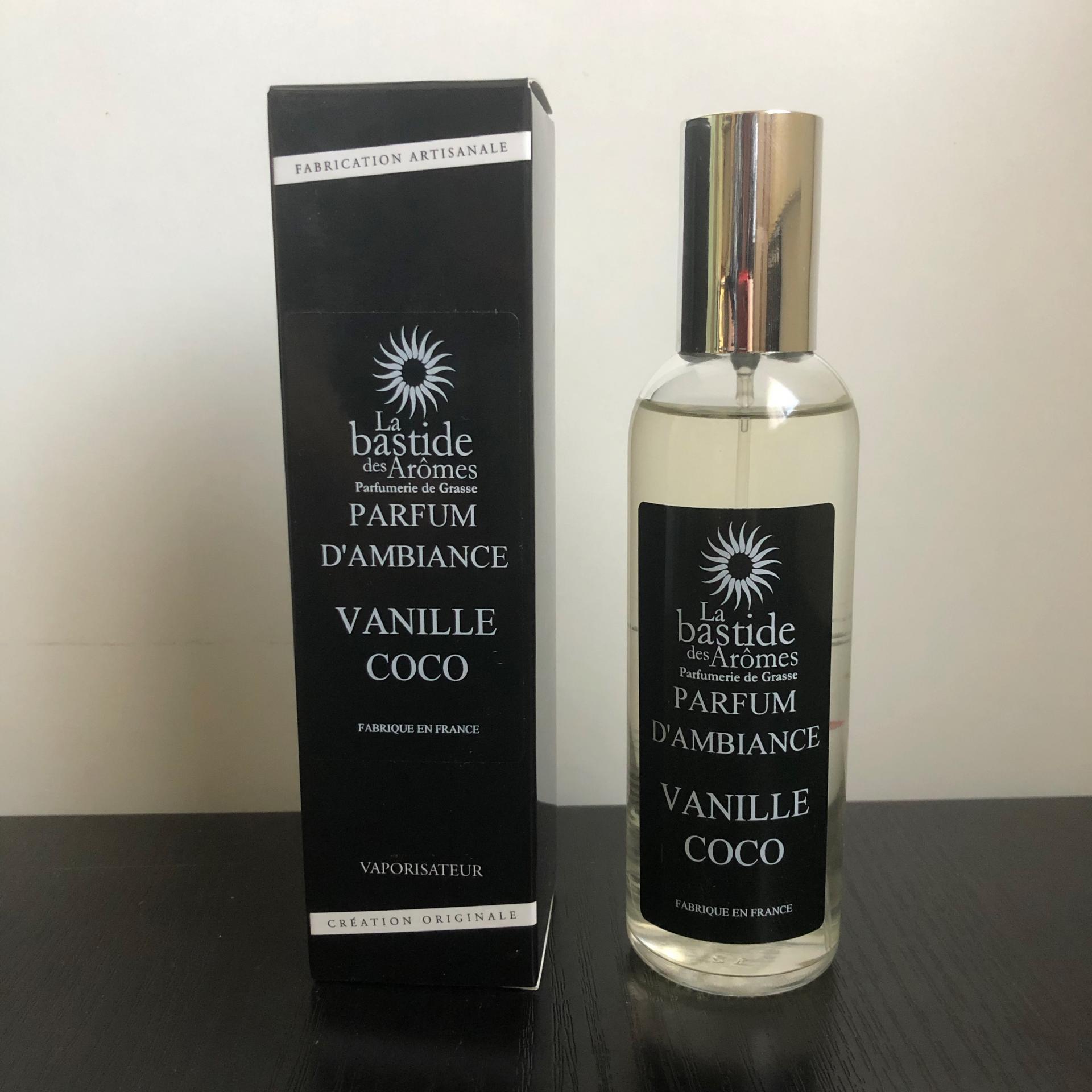 Parfum d ambiance vanille coco