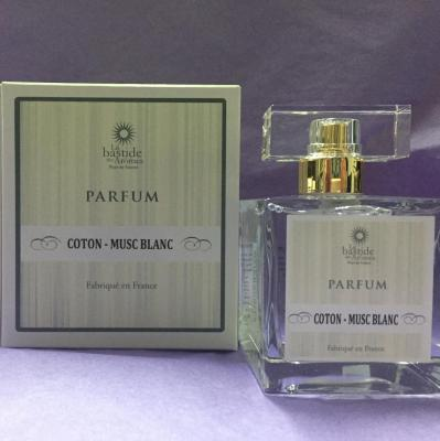 Parfum femme Coton - Musc blanc