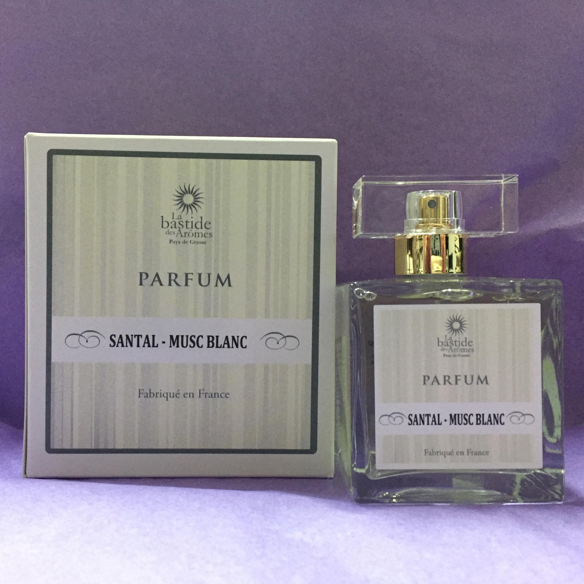 Parfum de grasse homme santal musc blanc
