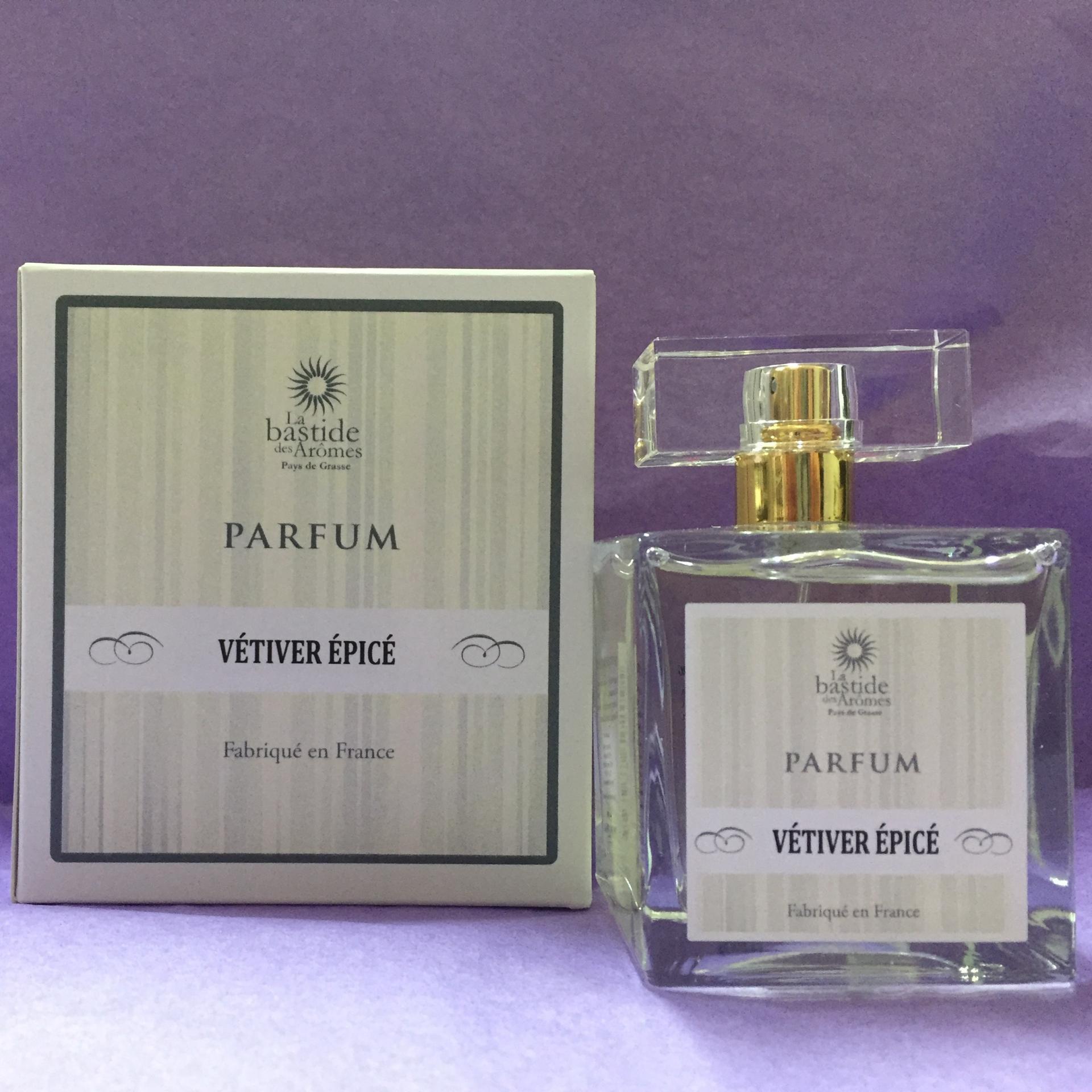 Parfum homme vetiver epice