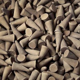 Cônes d'encens indiens patchouli X 10