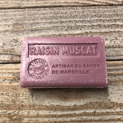 Savon à l'huile d'olive Raisin muscat