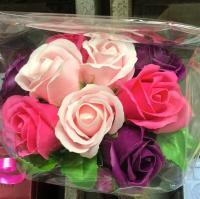 Roses de savon