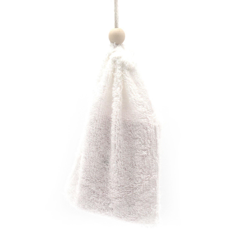 Sachet a savon en coton de bambou 1