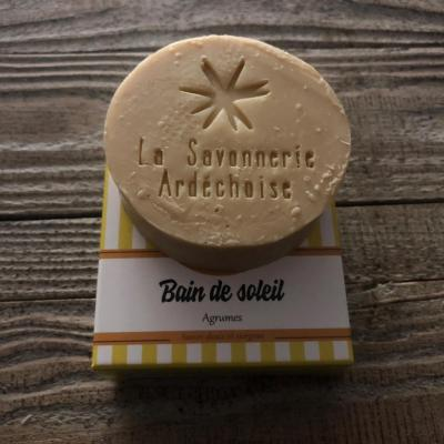 Savon Artisanal Ardèche Agrumes