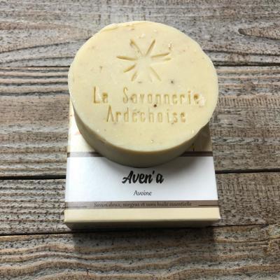 Savon Artisanal Ardèche Avoine