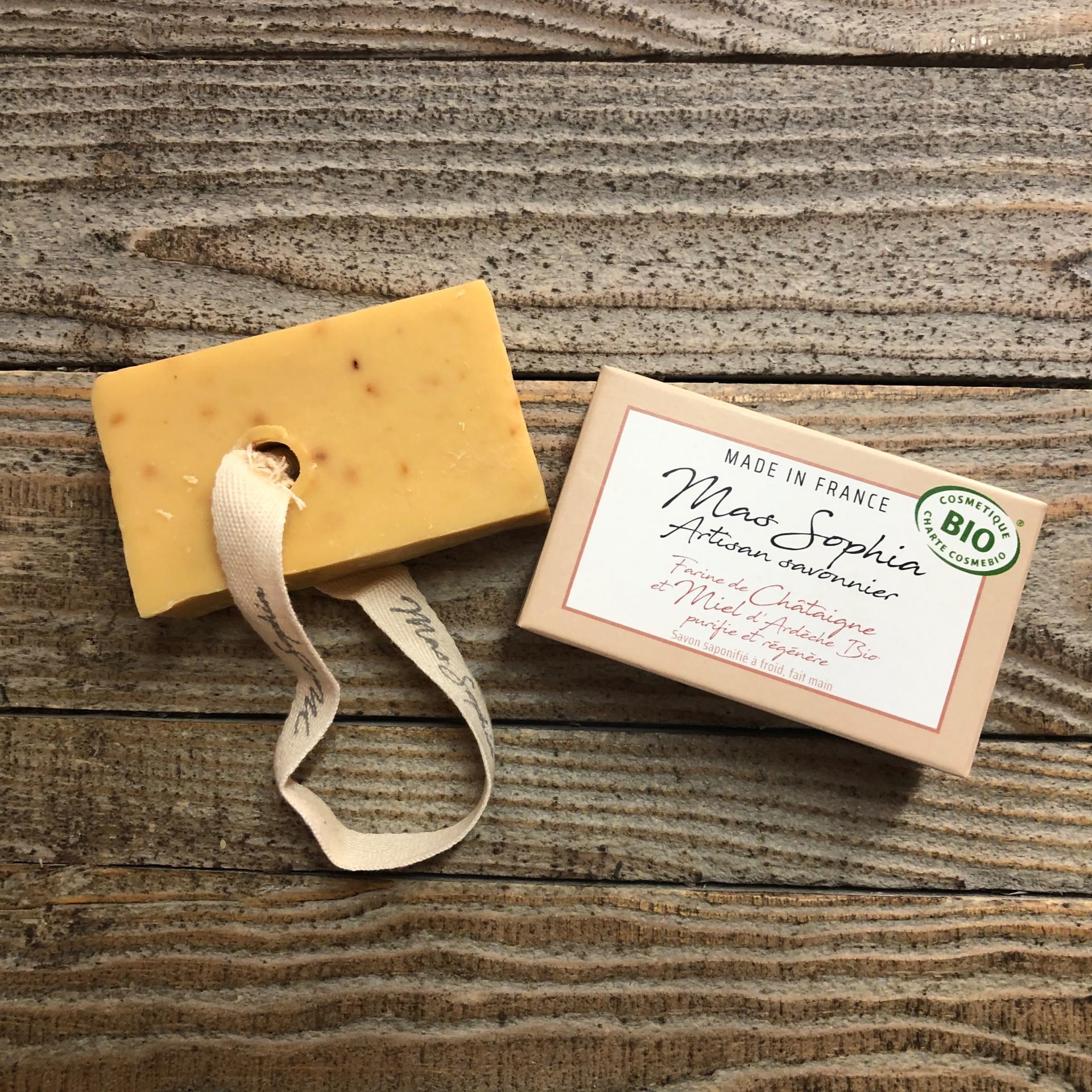 Savon artisanal chataigne miel