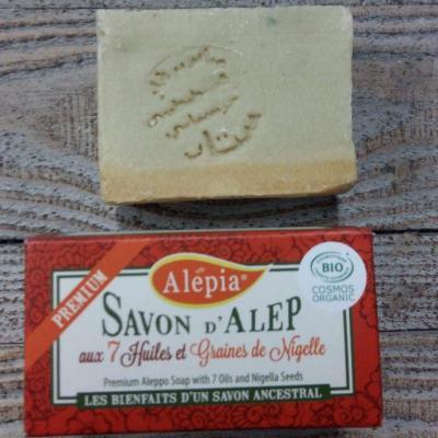 Savon d'Alep aux 7 huiles et graines de Nigelle