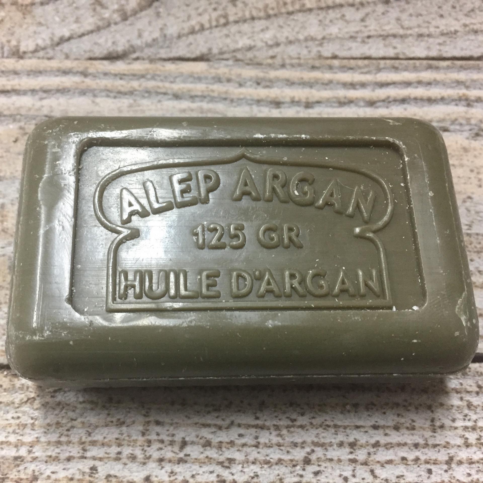Savon d Alep a l huile d argan