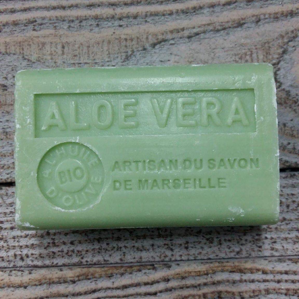 Savon de Marseille 125 gr aloe ve ra