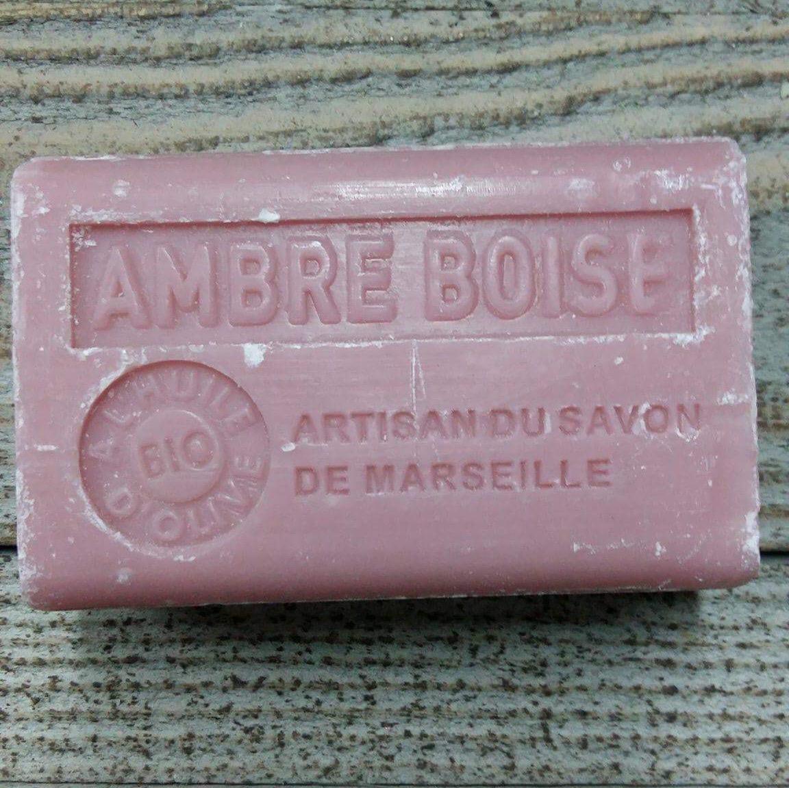 Savon de Marseille 125 gr ambre boise