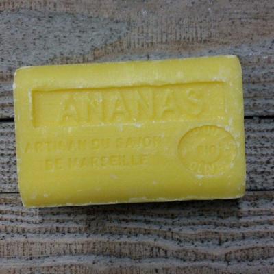 Savon à l'huile d'olive Ananas