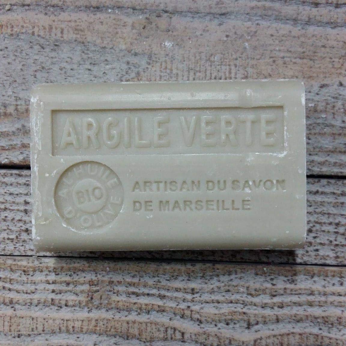 Savon de Marseille 125 gr argile verte