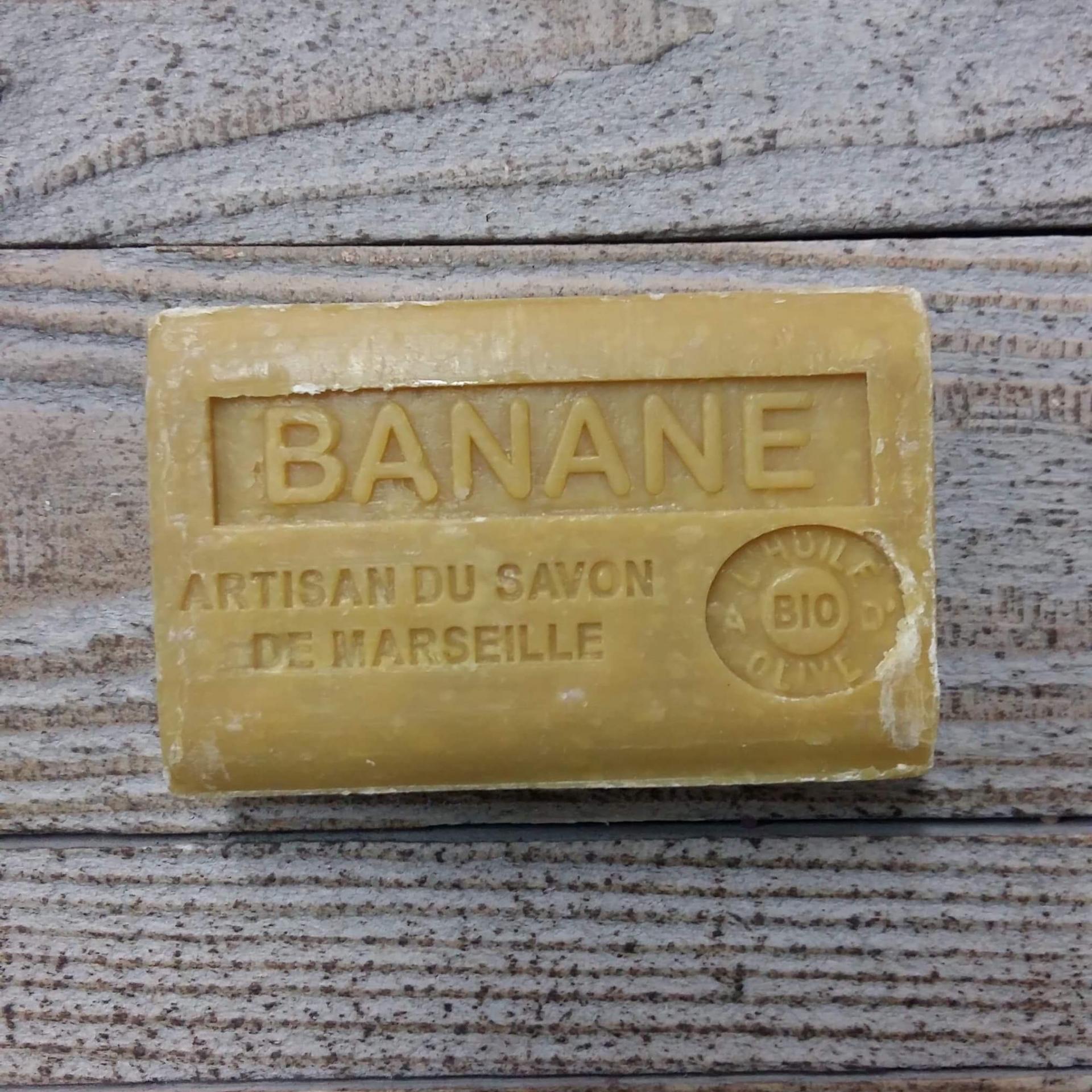 Savon de marseille 125 gr banane