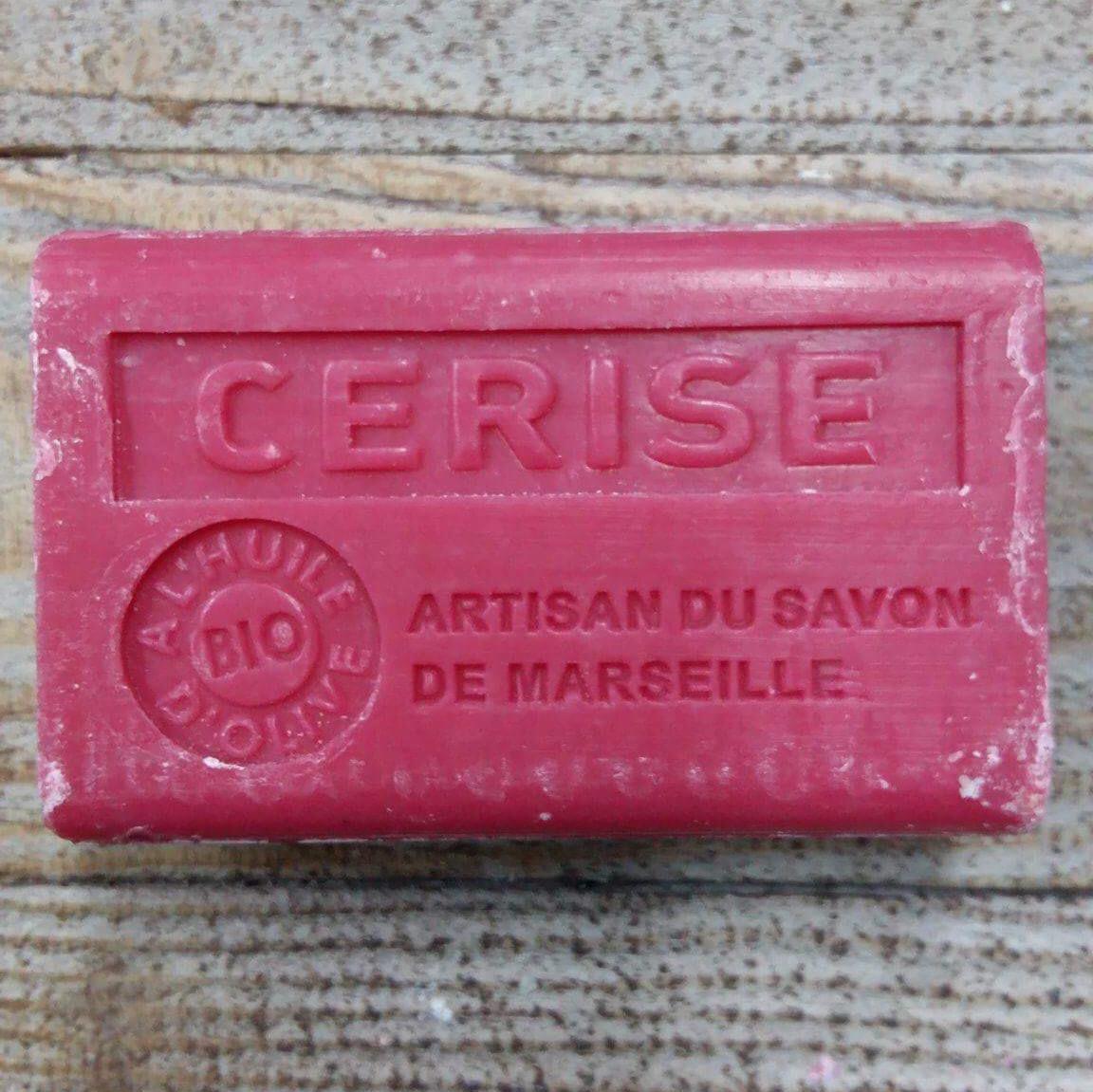 Savon de Marseille 125 gr cerise