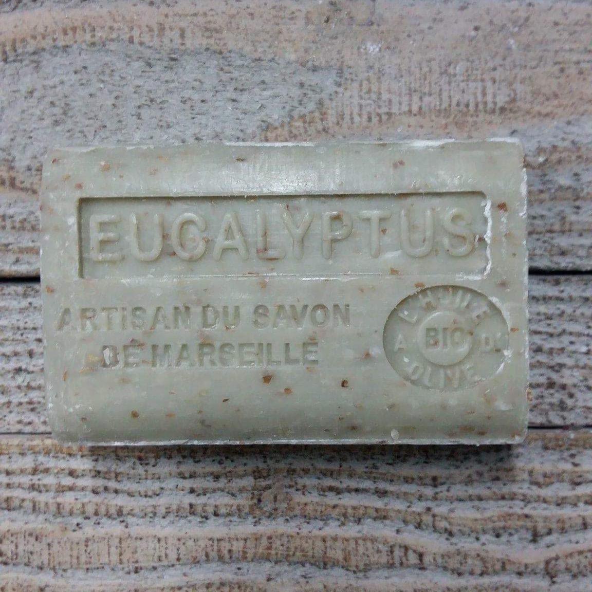 Savon de Marseille 125 gr eucalyptus