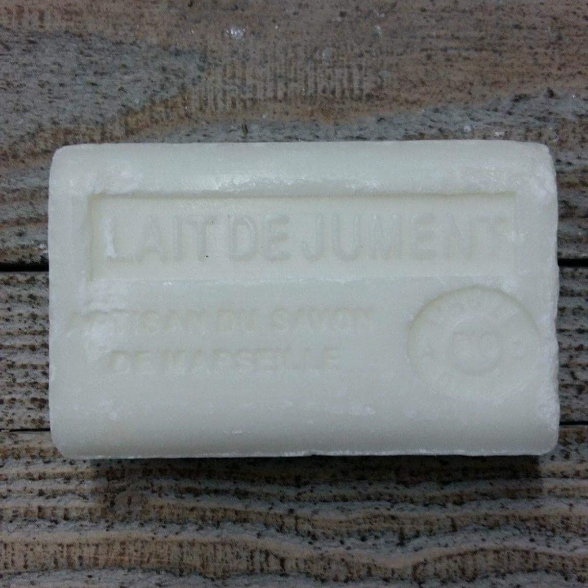 Savon de Marseille 125 gr lait de jument