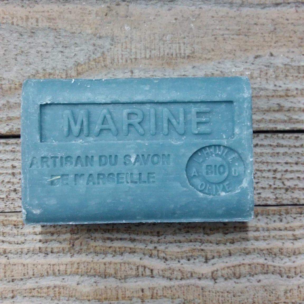 Savon de Marseille 125 gr marine
