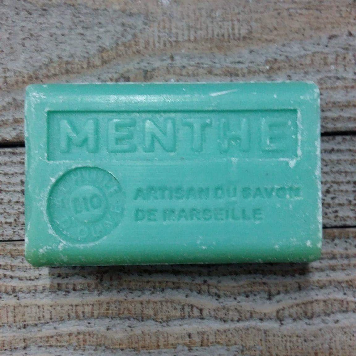 Savon de Marseille 125 gr menthe