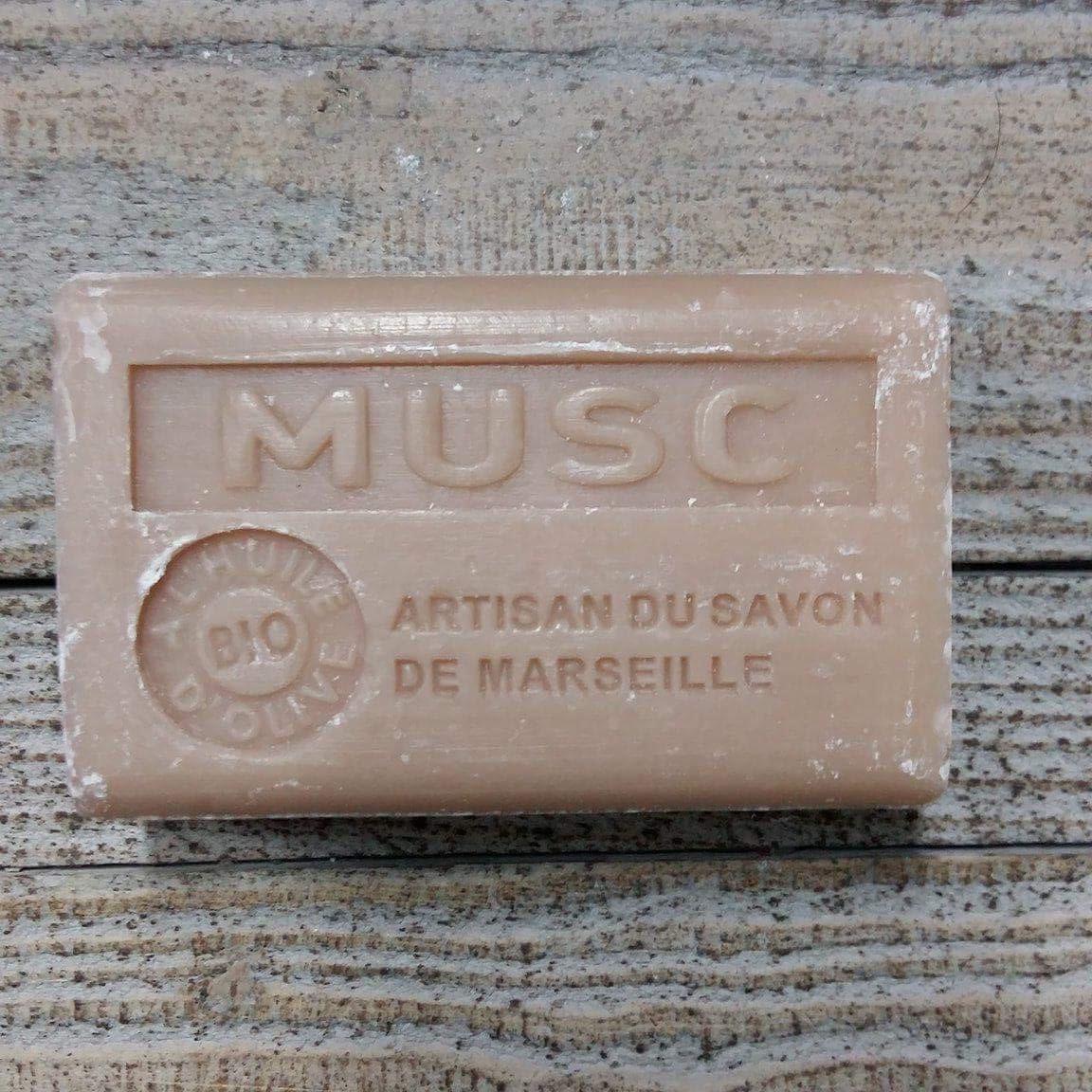 Savon de Marseille 125 gr musc