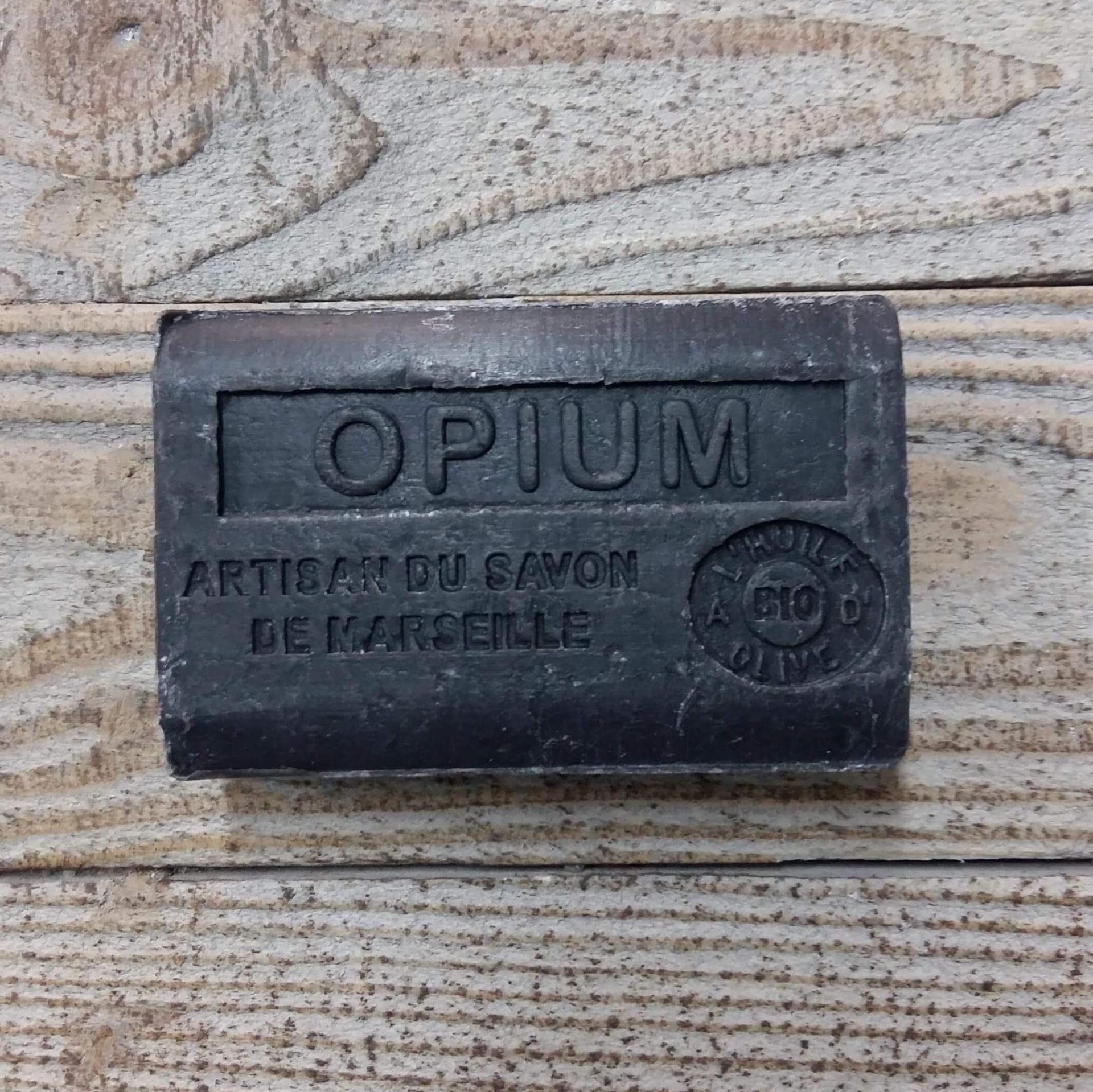 Savon de marseille 125 gr opium 1