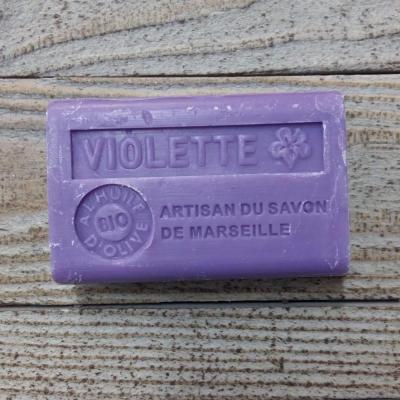 Savon à l'huile d'olive Violette