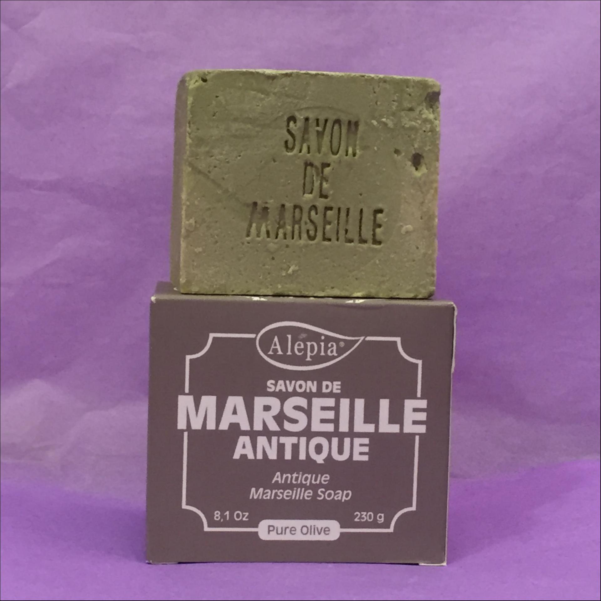 Savon de Marseille antique