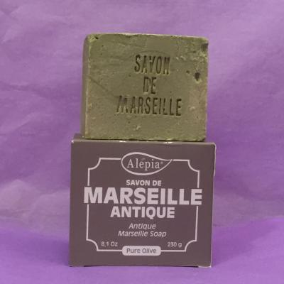 Savon de Marseille antique bio pure Olive