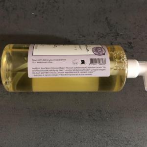 Savon liquide artisanal sud arde che miel lavande composition