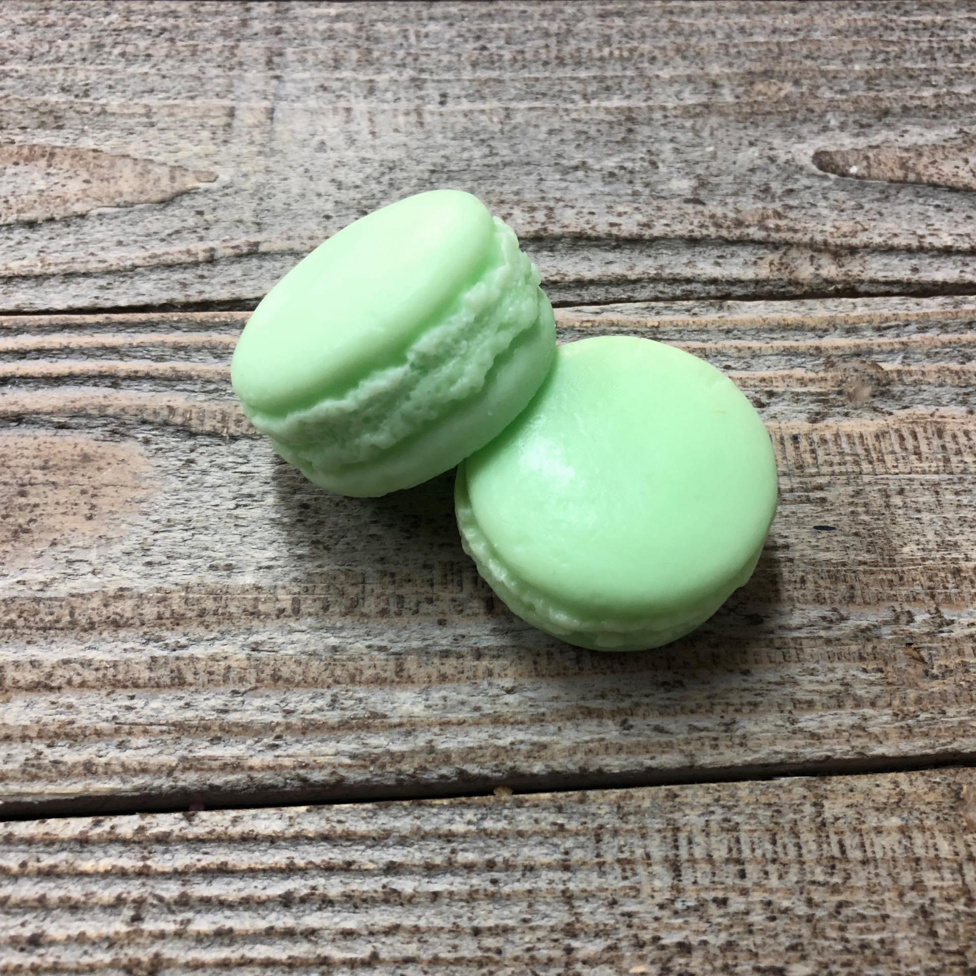 Savon macaron concombre menthe