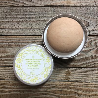 Shampooing solide au Henné & Aloe vera