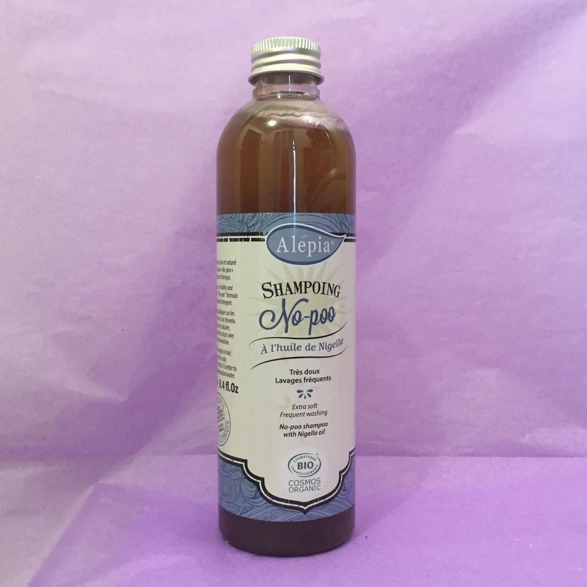 Shampooing d Alep a l huile de nigelle