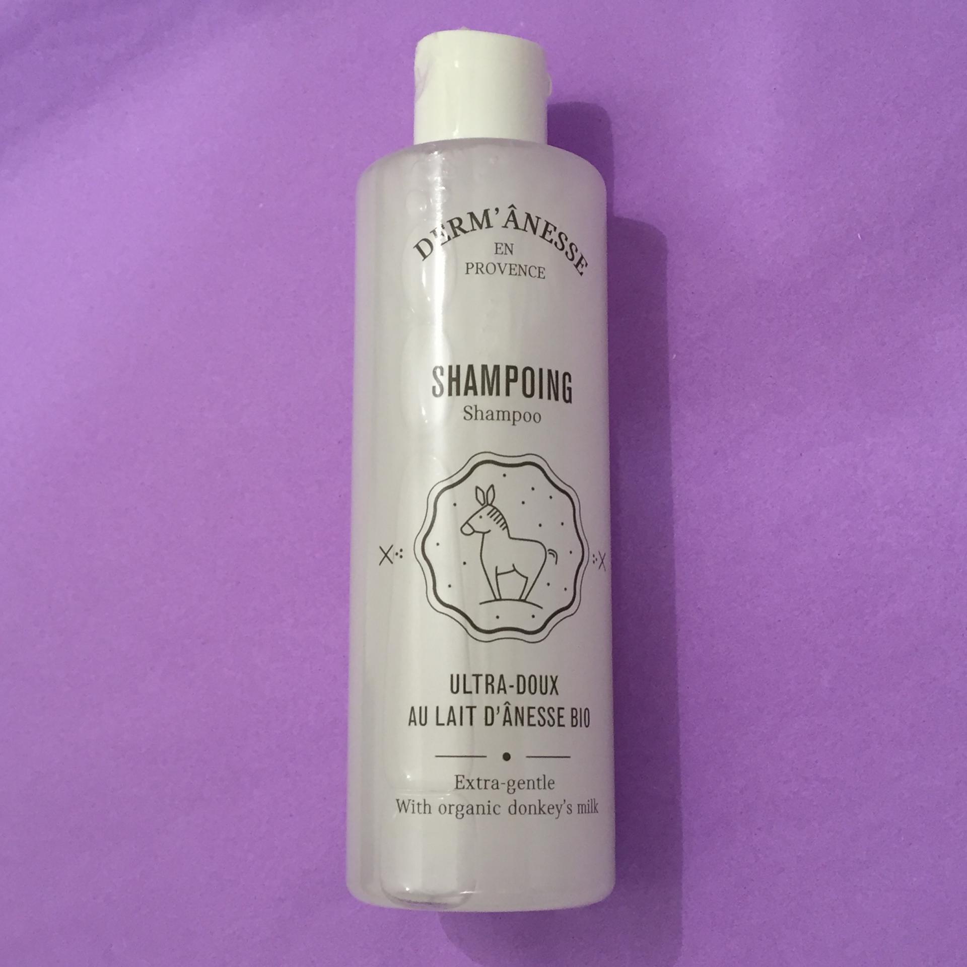 Shampooing au lait d anesse